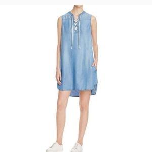 BeachLunchLounge Chambray Boho Demin Tunic Dress